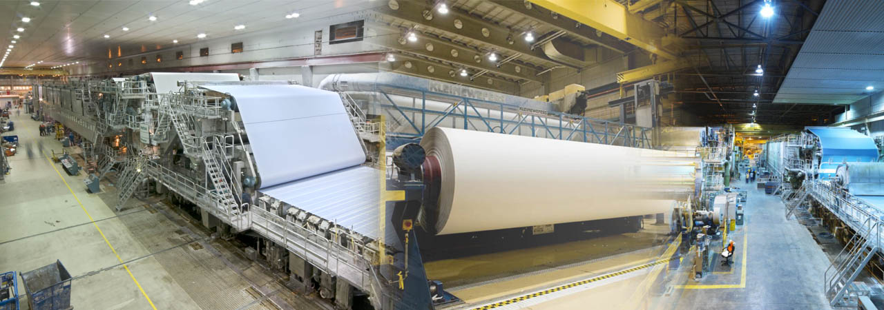 Offering excellence products for Pulp and Paper industry